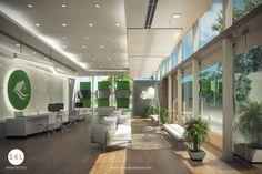 Sala de ventas diseño interior. Compass Group, Showroom, Bathroom Lighting, Conference Room, Mirror, Table, Furniture, Display, Design