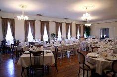 Have your wedding at the historic Martin Mason Hotel South Dakota, Sd, Weddings, Table, Furniture, Beautiful, Home Decor, Decoration Home, Room Decor