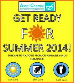 Summer care products!  http://www.assetchemist.co.uk/health/holiday_and_suncare