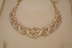 Diamond Necklace Indian Jewellery and Clothing: Diamond necklace collection from Tibarumals gems and jewellers. India Jewelry, Jewelry Sets, Fine Jewelry, Indian Wedding Jewelry, Bridal Jewelry, Diamond Pendant, Diamond Jewelry, Gold Jewelry, Diamond Necklaces