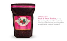 Yet ANOTHER fabulous product from Fromm family of foods. Pork & Peas. If the name and adorable brand doesn't grab you-(omg how couldn't it?) then just watch your pooch chow it down-irresistable :)  High quality and made in the US.