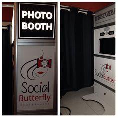 Photo booth Social Butterfly Photos.com