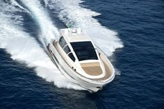 """http://BlueChipMoney.com - #Luxurious and #Cool: The Wayachts Wake 66 #Wayachts is a #yacht builder founded in 2006 and based in Milan with production in #Calabria. """"Sea Different"""" is the maximum synthesis of its mission. From the #application of this #philosophy, the Wake 48 arose, a 14 meter #cabincruiser that goes absolutely beyond normal schemes, for conception, #design and production #methodology."""
