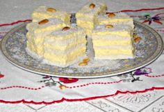 Raffaello szelet Edit konyhájából Hungarian Cake, Hungarian Recipes, Deserts, Food And Drink, Pie, Cookies, Breakfast, Torte, Crack Crackers