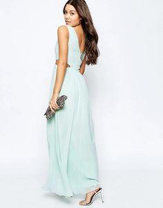 ASOS | ASOS Side Cut Out Maxi Dress at ASOS