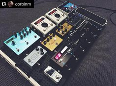 "Pedalboards by Temple Audio en Instagram: ""Niiiiiiiice one! #Templeboards #TRIO28 #Repost @corbinm ・・・ Trying new things. Put this together the last two days and every cable works! Really blown away with the new @bossfx_us ES-8 and I'm excited to have the @strymonengineering in the mix! Now to learn MIDI better... #templeboard #pedalboard #geartalk #pedalboards"""