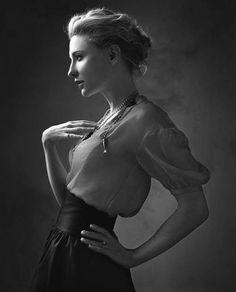 || Cate Blanchett || #Cate #Blanchett, #Actors, #Celebrities, #Photography, #Black, #White, #B&W