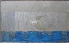 """""""Lune"""" Artista: Laura Facchini Categoria: astratto Tecnica: Mista su carta Dimensioni: cm 40 x 60 #TvArte"""