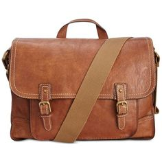 Nash Men's Tuscan Leather Messenger ($298) ❤ liked on Polyvore featuring men's fashion, men's bags, men's messenger bags, rust, mens messenger bag, mens courier bag and mens leather messenger bag