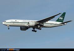 Pakistan International Airlines latest Retro jet.