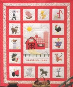 Grandpa's Farm Block of the Month Club You could make this beautiful quilt in 16 months!