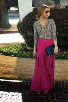 OBSESSED with this skirt! And her blog is adorbs