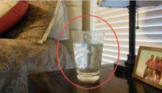 Usando solo un bicchiere d'acqua puoi scoprire se ci sono energie negative nella tua casa!