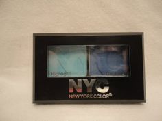 New York Color NYC City Duet Eyeshadow Yankee Blues 813B Net Wt 07 Oz * To view further for this item, visit the image link.