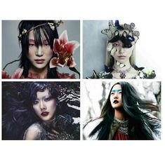#Moda & #Estilo: Quatro #Top #Models #coreanas #famosas