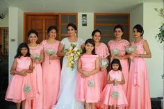 Indian Wedding Bridesmaids, Indian Bridesmaid Dresses, Bridesmaid Saree, Bridesmaid Dress Colors, Bridal Dresses, Christian Bridal Saree, Christian Bride, Frocks For Girls, Formal Dresses