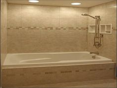 Elegantsmall bathroomideascan bedecoratedwith the right tile if you want to make an attractivesmall bathroom. Description from homesinteriordesign.net. I searched for this on bing.com/images