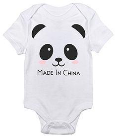 Made In China Cute Onepiece Baby Bodysuit Baby Clothes for Baby Boys and Girls 03 Months ** Click image to review more details.Note:It is affiliate link to Amazon.