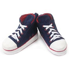 Women's Warm Comfy Indoor Slipper Boots House Fashion Sneakers Navy -- Want additional info? Click on the image. (This is an affiliate link) #Slippers