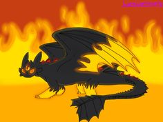 Eternal Flame, by LunaLuminosity on DeviantArt. Woohoo, I finally finished my part of an art trade with Night-Fury-Fire on DeviantArt! :D I felt really bad for making her wait like a week, so I decided to draw Fire's alpha mode and make a wall of flames in the background. Also, *drum-roll* This is my very first attempt at lighting and shadowing! :D I know it's not very good, but hey, it's a start. ;) I hope you guys like it! :)