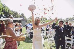 The Best Wedding Recessional Songs As Voted By Weddingbells Readers. Wedding Send Off, Wedding Exits, Wedding Music, Our Wedding, Dream Wedding, Wedding Ideas, Walk Out Songs, Wedding Recessional Songs, Couples Walking