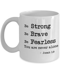 Jonah Bible, Jonah 1, Bible Quotes, Bible Verses, Fill My Cup Lord, Positive Vibes, Personalized Gifts, Coffee Mugs, Inspirational Quotes
