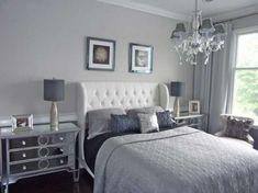 Parete Camera Da Letto Argento : Fantastiche immagini su camera da letto glamour master
