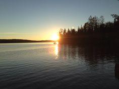 Perfect fall sunset