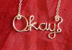 the fault in our stars necklace by WireArtClaire on Etsy, $12.90 @AnnieK3ll3r