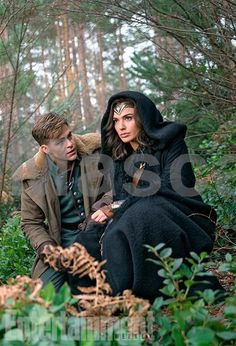 'Wonder Woman': Exclusive New Photos of Gal Gadot's Superhero Movie   Chris Pine as Steve Trevor and Gal Gadot as Wonder Woman   EW.com #movie #movies #newreleases #cinema #media #films #filmreviews #moviereviews #television #boxsets #dvds #tv #tvshows #tvseries #newseasons #season1 #season2 #season3 #season4 #season5