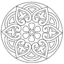 mandala cute pattern for a stencil or colouring in? Mandala Coloring Pages, Colouring Pages, Adult Coloring Pages, Coloring Books, Mandala Pattern, Mosaic Patterns, Embroidery Patterns, Quilt Pattern, Mandala Painting