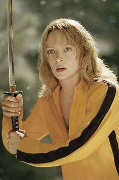 Uma Thurman, Vivica A. Fox, Lucy Liu, Daryl Hannah & Chiaki Kuriyama are some of the baddest bitches to hit the screen... Got to love Tarantino...