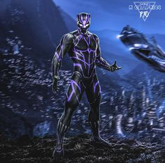 H GraphicsPro: Black Panther concept art Black Panther Images, Black Panther Comic, Black Panther King, Black Panther Costume, Panther Pictures, Marvel Vs, Marvel Heroes, Marvel Comics, Iron Man Helmet