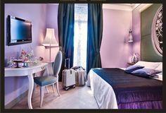 camere Hotel Chateau Monfort in Milan, FZI-interiors by Francesca Fezzi e Elisabetta Frazuoli , via Behance