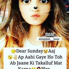 #😉😉😋😋😋😋 @stylish__hoor 💓💓💓 Girl Quotes, Abs, Girly, Thoughts, Stylish, Memes, Craft, Instagram, Funny
