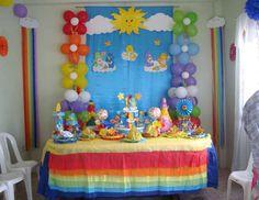 "OSITOS CARIÑOSITOS  - care bears / Birthday ""OSITOS CARIÑOSITOS 1 AÑITO "" | Catch My Party"