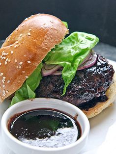 Blue Cheese Stuffed Cherry Burgers