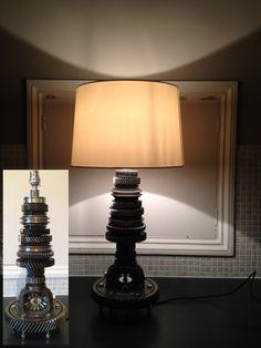 exquisite lamp created by Philip Broadbridge