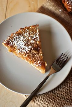Sugar Cream Pie - i have one recipe, now I want to try THIS one!