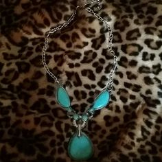 Necklace Stunning turquoise necklace Accessories