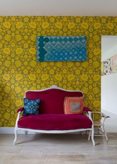 An Amazingly Artistic Colorfully Patterned Uk Home