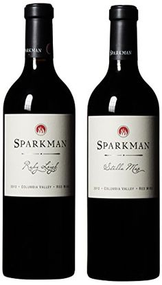 Sparkman Cellars The Sisters Ruby Leigh Merlot  Stella Mae Cab Mixed Pack 2 x 750 mL ** To view further for this item, visit the image link.  This link participates in Amazon Service LLC Associates Program, a program designed to let participant earn advertising fees by advertising and linking to Amazon.com.