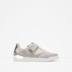 ZARA - MAN - METALLIC DETAIL SNEAKERS