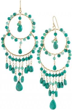 Stella & Dot #fashion #jewelry #earrings