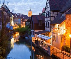 Europe's Most Beautiful Villages: Colmar, France. I never cared much for Paris, but I might make it back to France for this beauty