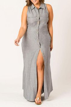 Shop latest plus-size dresses for womens at CurveGirl. Find party, casual and formal dresses with sizes and up with full customization. Girl With Curves, Button Down Dress, Collar Shirts, Plus Size Dresses, Plus Size Fashion, Curve Girl, Formal Dresses, Casual, Sweaters