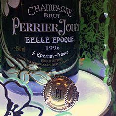 The Perrier Jouet love affair! Photo @TeamWhites