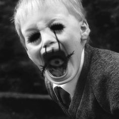 This is what happens to kids that don't brush their teeth.