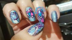 Nail stamping decals