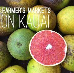 Kauai farmer's markets